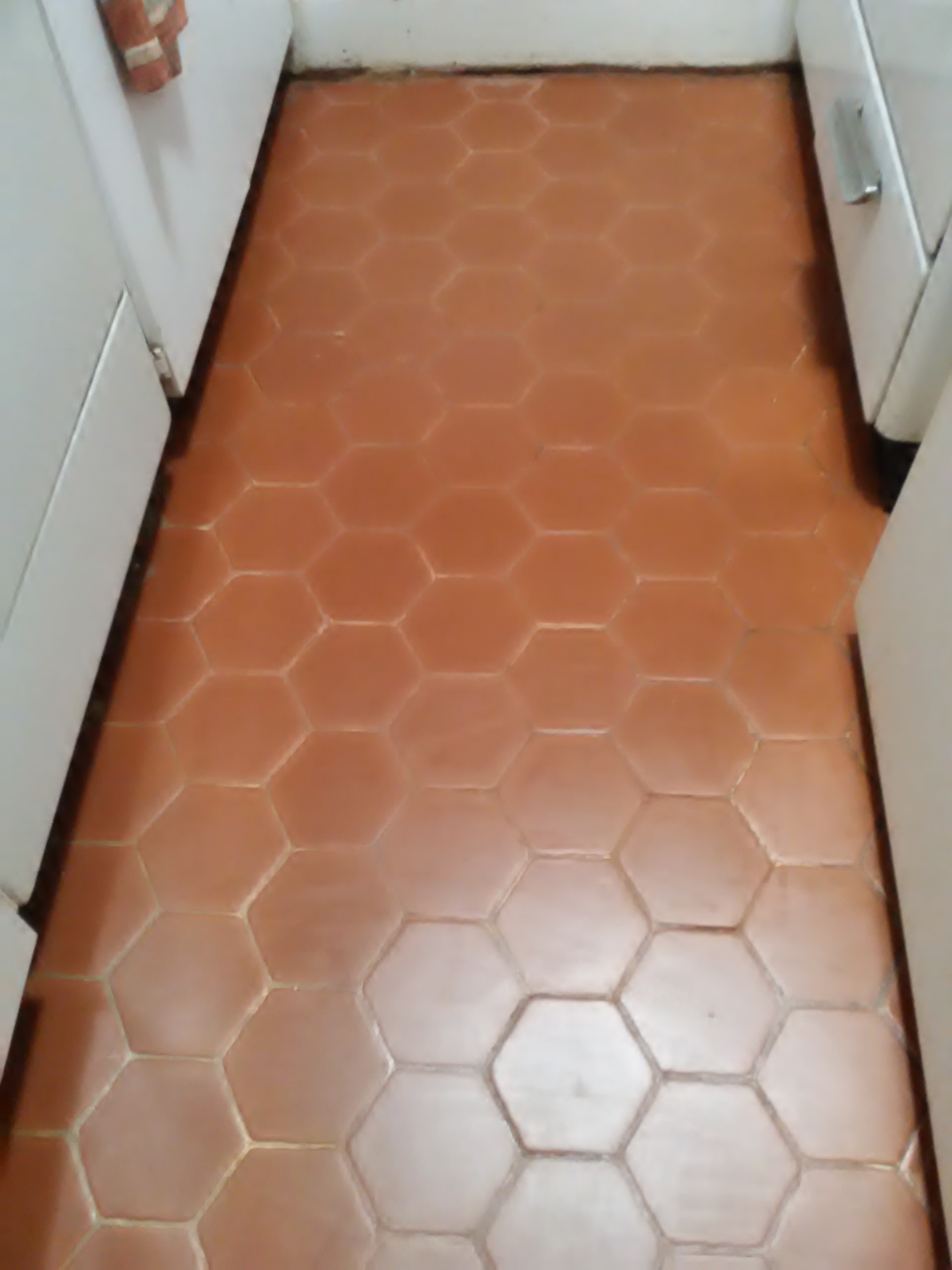Terracotta tile floor refinish keep on going sealed dailygadgetfo Choice Image