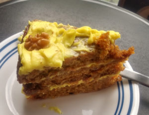 Carrot cake from Iconica